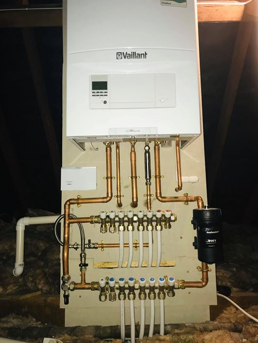 Manifold heating system by Dave Chorley